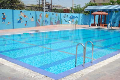 Ajanta public school basant avenue amritsar swimming pool for Rogers high school swimming pool
